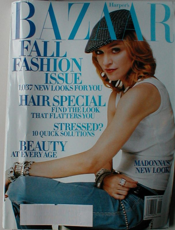Harpers Bazaar September Fall Fashions 2003