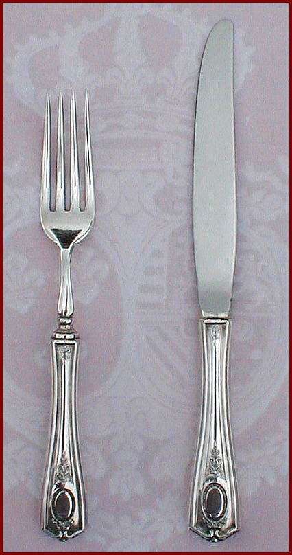 Louis Xvi Special Dinner Set Oneida Community Silver