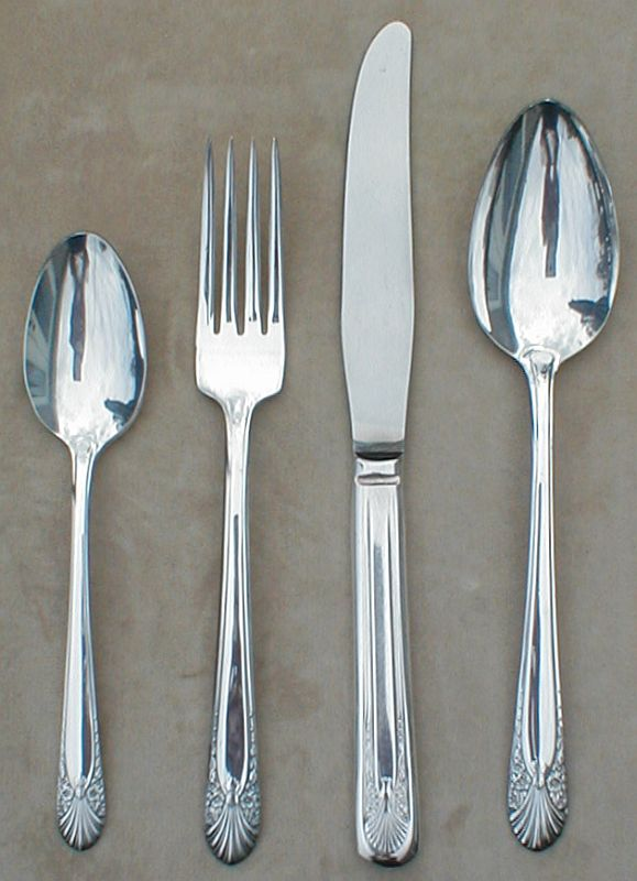 Liz Collectible Jewelry: Vintage Table Silver Flatware Silverware ...