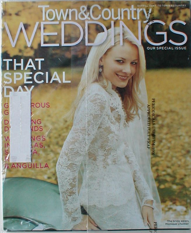 Town Country February Weddings 2006