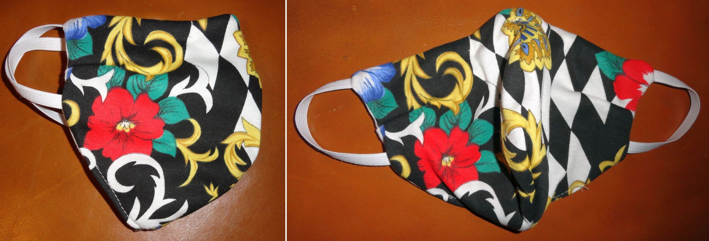 The Wildfloral Mask, 2 views